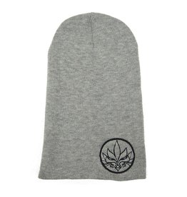 TALL T PRODUCTIONS TALL T PRODUCTION STAMP SLOUCH BEANIE GREY/WHITE