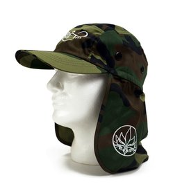 TALL T PRODUCTIONS TALL T PRODUCTION FLAP HAT CAMO/WHITE