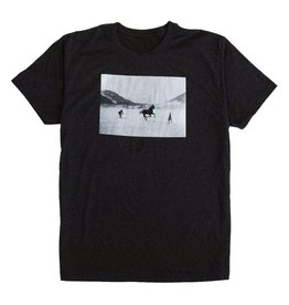 HASKILL HASKILL HORSEPOWER TEE HEATHER BLACK