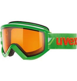 UVEX UVEX 16/17 GOGGLE FIRE RACE GREEN LASERGOLD LITE S1