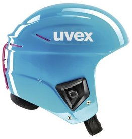 UVEX UVEX 16/17 SKI HELMET RACE+ ALL CYAN