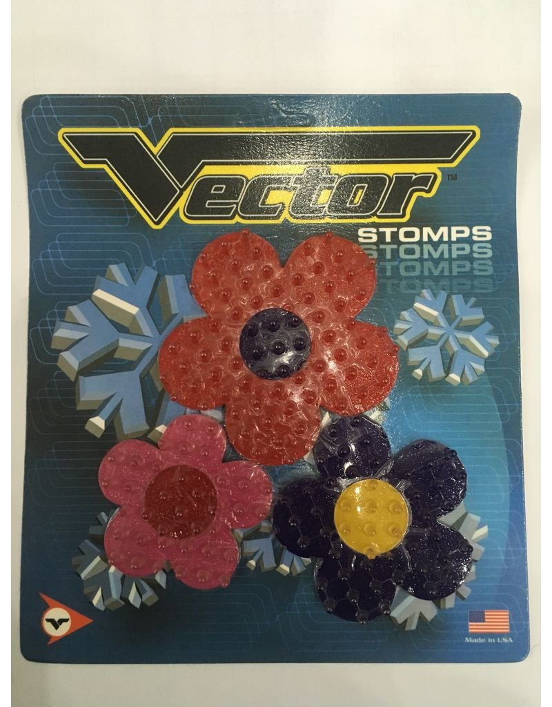 VECTOR STOMP PAD FLORAL