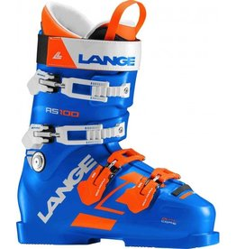LANGE LANGE 2018 SKI BOOT RS 100 (POWER BLUE) 97MM