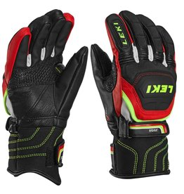 LEKI LEKI SKI GLOVE WC RACE FLEX S JUNIOR BLACK/RED