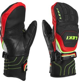 LEKI LEKI SKI GLOVE WC RACE FLEX S MITT JUNIOR BLACK/RED