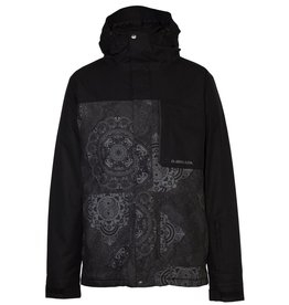 ARMADA ARMADA 2018 SKI JACKET MANTLE INSULATED JACKET BLACK MANDALA