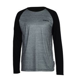 ARMADA ARMADA LAYER CONTRA CREW L/S TOP HEATHER GREY