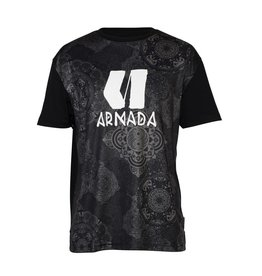 ARMADA ARMADA 2018 BASE LAYER ZONE TECH TEE BLACK MANDALA