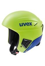 UVEX UVEX SKI HELMET RACE+ FIS LIME-COBALT MATTE