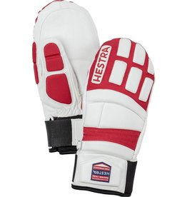 HESTRA HESTRA 2019 SKI GLOVE IMPACT RACING JUNIOR MITT WHITE/RED