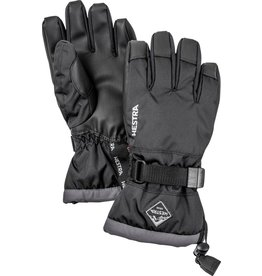 HESTRA HESTRA SKI GLOVE GAUNTLET CZONE JUNIOR BLACK/GRAPHITE