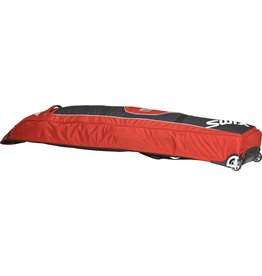 SWIX SWIX SKI BAG DOUBLE WHEEL BAG RED/BLACK