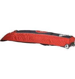SWIX SWIX SKI BAG DOUBLE WHEEL BAG RED/BLACK