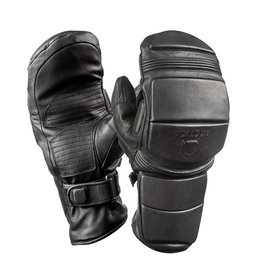 ARCTICA ARCTICA LEATHER RACE MITTEN BLACK