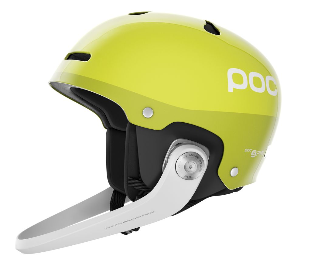 POC POC SKI HELMET ARTIC SL SPIN HEXANE YELLOW