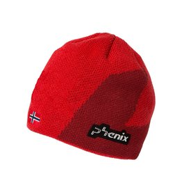 PHENIX PHENIX BEANIE NORWAY ALPINE TEAM KNIT RED