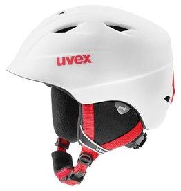 UVEX UVEX SKI HELMET AIRWING 2 PRO WHITE-RED MATTE