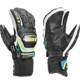 LEKI LEKI 2018 SKI GLOVE WC TI S LOBSTER BLACK/CYAN