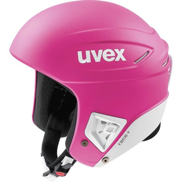 UVEX UVEX SKI HELMET RACE+ FIS PINK-WHITE MATTE