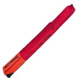 ATOMIC ATOMIC SKI BAG RS DOUBLE SKI WHEELIE BRIGHT RED