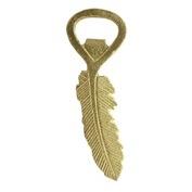 Homart Feather Bottle Opener- Gold