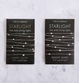 Two's Company Starlight LED Wire String Lights in Gift Box