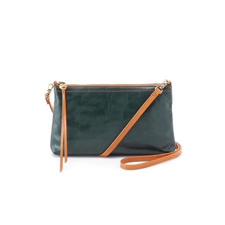 Hobo Bags DARCY- (VI-EVRG) EVERGREEN- Hobo Convertable Crossbody Clutch