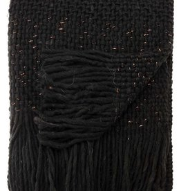 Jaipur Living Sublime Throw- Black