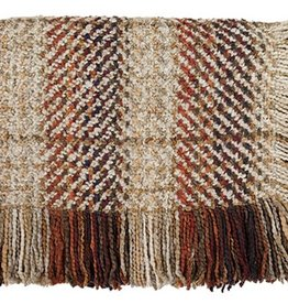 Bedford Cottage Ombre Almond Throw 45X72