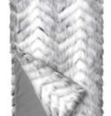 Fabulous Furs Limited Edition Throw Crystal Fox 60x72