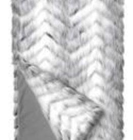 Fabulous Furs Limited Edition Throw Crystal Fox 60x72