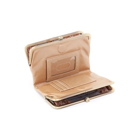 Hobo Bags GLORY (MET-GLDST) Gold Stardust Hobo Wallet