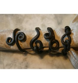 Old River Road Napkin Ring - Rustic/Twisted-Single