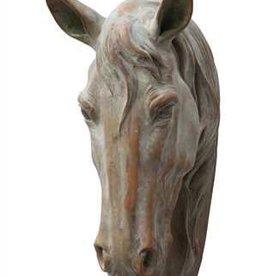 Creative Co-Op Polystone Horse Head Wall Decor