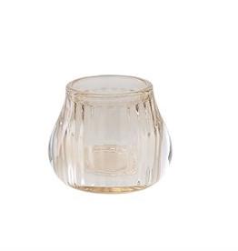 Creative Co-Op Glass Tea Light Holder
