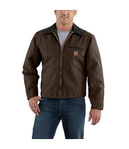 Carhartt Jacket Sandstone Blanket Lined Detroit J97