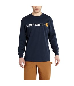 Carhartt Logo T-Shirt Long-Sleeve K298