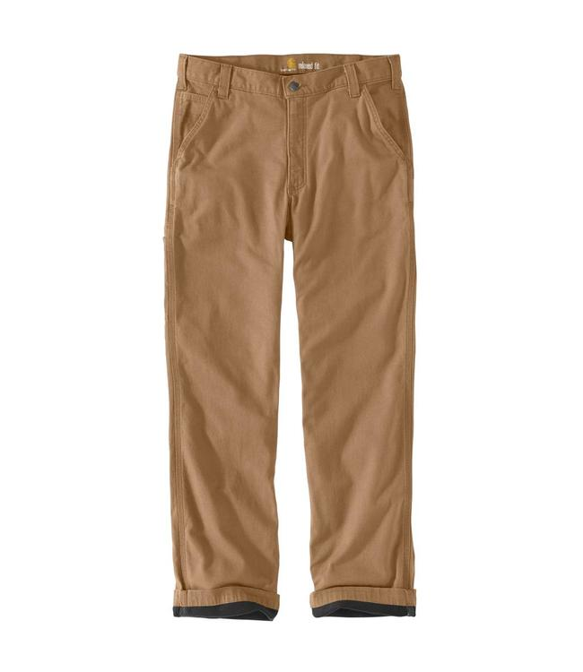 Carhartt Pant Lined Dungaree Knit Rugged Flex Rigby 103342