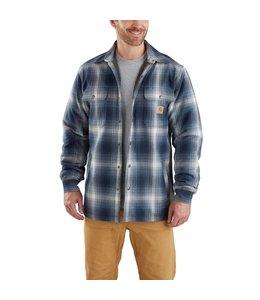 Carhartt Shirt Jac Flannel Plaid Sherpa-Lined Hubbard 103353