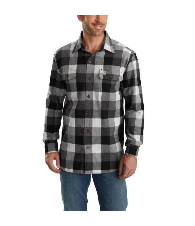 Carhartt Shirt Flannel Plaid Hubbard 103348