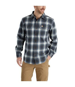 Carhartt Shirt Flannel Plaid Hubbard 103348