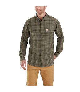 Carhartt Shirt Chambray Plaid Fort 103352
