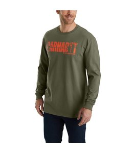 Carhartt T-Shirt Long-Sleeve Hunting Graphic Workwear 103356