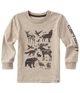 Carhartt Tee Woodgrain Animals CA8863