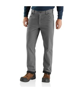 Carhartt Men's Rugged Flex Rigby Dungaree Knit Lined Pant 103342