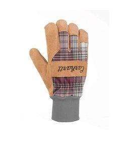 Carhartt Work Glove Knit Cuff Suede Insulated WA685