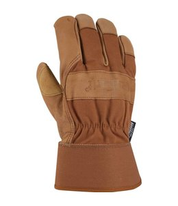 Carhartt Work Glove Safety Cuff Grain Leather Insulated A513