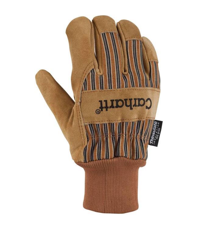 Carhartt Work Glove Knit Cuff Suede Insulated A512