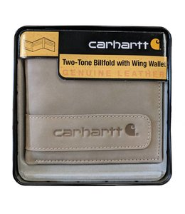 Carhartt Wallet Billfold Two-Tone with Wing and Collectible Tin 61-2204