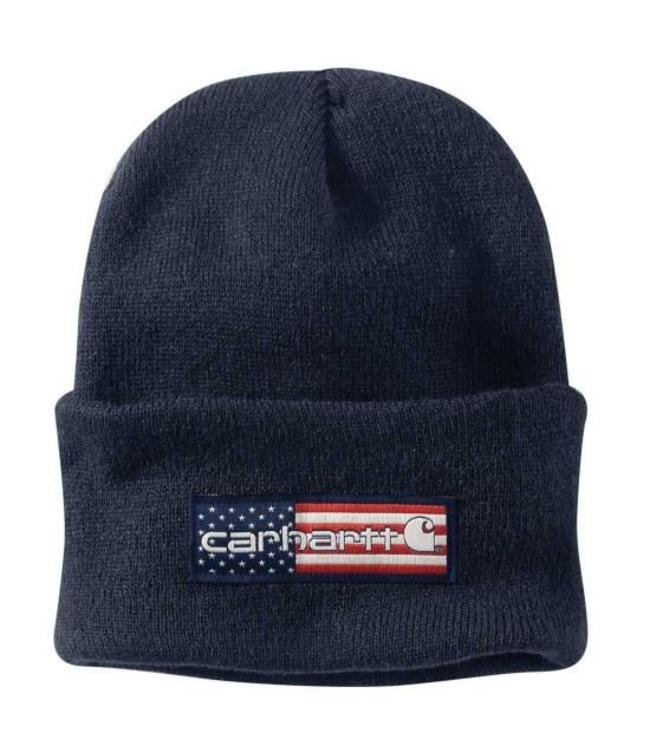 Carhartt Hat Watch Acrylic Flag Patch 102915